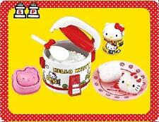 re ment miniature hello kitty rice cooker rice ball