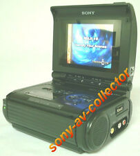 PLAY Hi8 Video8 Video 8 8mm Tapes w/ Sony GV-S50 Player Recorder VCR LCD Deck EX