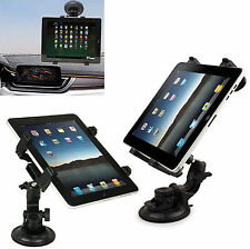 Windshield Car Mount Tablet Holder Cradle 360° For iPad 2,3/Air 1,2/Mini 1,2,3,4