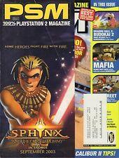 PSM October 2003 Gran Turismo 4, Mafia w/ML VG 070816DBE2