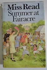Book. Summer at Fairacre by Miss Read (Hardback, 1984) HBDJ. First Edition.