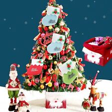 2* Xmas Shoes Stocking Christmas Tree Decoration Hanging Party Home Decor Strap