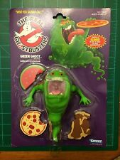 Kenner Real Ghostbusters Slimer Green Ghost NIB Action Figure MOC White Text NEW