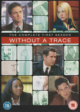 WITHOUT A TRACE - Series 1. Anthony LaPaglia, Poppy Montgomery (4xDVD BOX SET05)