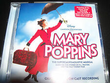 Mary Poppins Original London Cast Musical Recording Soundtrack CD New