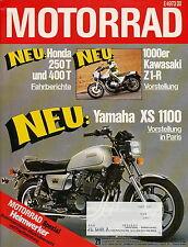 Motorrad 21 77 Bultaco Matador Fantic Caballero Z1R Gilera 50 Aikasan 1977 Bikes