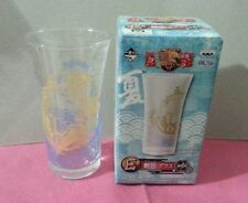 One Piece glass cup - Thousand sunny ship - blue
