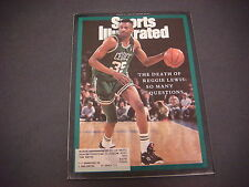 Sports Illustrated  Magazine,August 1993,Reggie Lewis