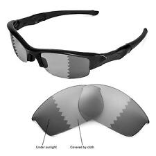 New Walleva Polarized Transition/Photochromic Lenses For Oakley Flak Jacket