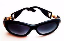 Gucci Black Sunglasses Bamboo Horse Bit Trim