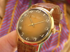 SOLID 14K YELLOW GOLD VINTAGE LUCIEN PICCARD