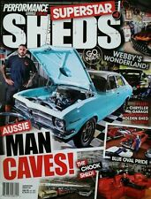 SUPERSTAR SHEDS MAGAZINE - #4, CHRYSLER, MONARO, HOLDEN, TORANA, FORD, MAN CAVES