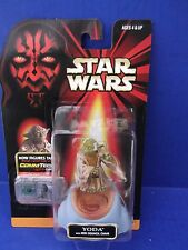 """STAR WARS EPISODE 1 """"YODA"""" WITH JEDI COUNCIL CHAIR & COM CHIP"""