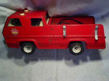 TONKA TRUCK FIRE ENGINE Pressed Steel XR-101 some metal on front,**missing parts