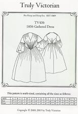Schnittmuster Truly Victorian TV 456: 1856 Gathered Dress