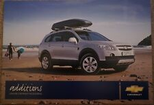 2009 Chevrolet Captiva Aveo Lacetti Epica Accessories Irmscher Brochure