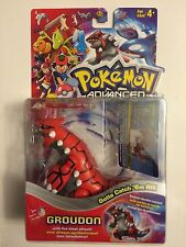 Pokemon Advanced figure - Groudon - Hasbro sealed 2003 w/ card