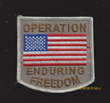 OPERATION ENDURING FREEDOM OEF PATCH AFGHANISTAN US ARMY MARINES NAVY AIR FORCE