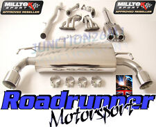 Milltek Golf R32 MK4 Exhaust Manifolds Cats & Cat Back Non Res System GT100
