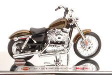 Harley Davidson 2012 XL 1200v Seventy Two 1:18 Model MAISTO