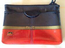 Vintage Ambassador Roberta Di Camerino Italy Leather Clutch Bag Rare