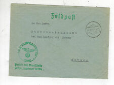 1941 Germany Cover Waffen SS Feldpost 5th Division WIking to Coburg