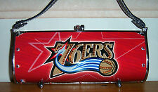 $250 LITTLEARTH PHILADELPHIA 76ERS BASKETBALL NBA SWAROVSKI FENDER FLAIR PURSE