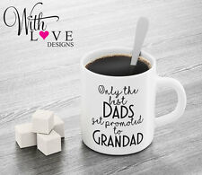 BEST DADS GRANDADS QUOTE COFFEE MUG TEA CUP BIRTHDAY CHRISTMAS NEW BABY GIFT