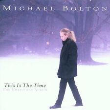 nuovo incelofanato This Is The Time - The Christmas Album CD Michael Bolton