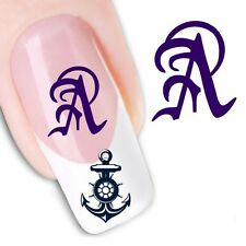 Nail Art Sticker Water Decals Transfer Stickers Letters Symbols (DX1280)