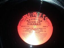"Blood Of Abraham Stabbed Steeple Niggaz Jewz 12"" Single Exc Cond Ruthless Record"