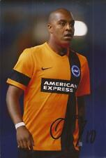 BRIGHTON: KEMY AGUSTIEN SIGNED 6x4 ACTION PHOTO+COA