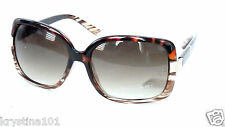 ELIE TAHARI BROWN TORTOISE FADE GOLD SUNNIES SUNGLASSES SHADES 124 TAHARI