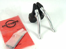 Royal Gran Compe Brake Levers Silver Dia Compe Anatomic Hoods Road Bike NOS
