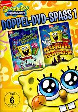 2 DVDs * SPONGEBOB SCHWAMMKOPF - DOPPEL-DVD SPASS 1