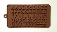 New Alphabet Letters Silicone Mold Fondant Mat Cake Cupcake Letter Decorate