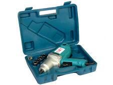 NEW 1/2'' ELECTRIC IMPACT WRENCH GUN SET W / CASE SOCKETS DRIVE