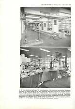 1959 Heinz Factory Kitt Green Wigan Mezzanine Floor Structure
