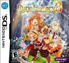Rune Factory 3: A Fantasy Harvest Moon (Nintendo DS, 2010) GAME ONLY, TESTED A+