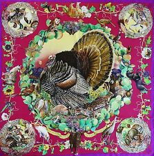 Bird Collectors HERMES Faune Flore du Texas Wildlife SILK SCARF by Kermit Oliver