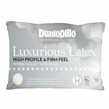 DUNLOPILLO Luxurious Natural Talalay Latex High Profile | Firm Feel Pillow NEW