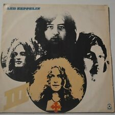 LED ZEPPELIN - III - 1970 FIRST PRESS BRAZIL LP UNIQUE COVER