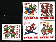 Sweden 2000 Chistmas songs. MNH