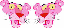 Exterior Vinyl Pink Panther Car Stickers Decals Graphics x 2 Handed