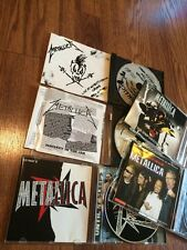 Metallica Cd Lot Metal Singles Megadeth Anthrax Slayer Live Motorhead King