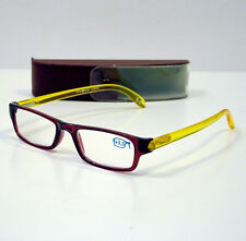 OCCHIALI GRADUATI DA LETTURA PRESBIOPIA LUMINA RED/YELLOW +3,5 READING GLASSES