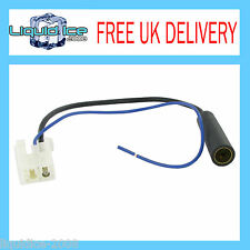 CONNECTS 2 CT27AA93 TOYOTA PRIUS ALL MODELS TO DIN FEMALE AERIAL ANTENNA LEAD