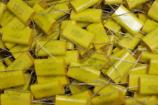10 Seacor 1uf 400 Volt metalized mylar capacitors 400 V NOS