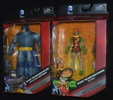 ARMORED BATMAN & Carrie Kelly ROBIN The Dark Knight Returns DC Multiverse MIP