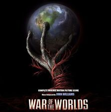 WAR OF THE WORLDS John Williams 2 CD COMPLETE SCORE EDITION
